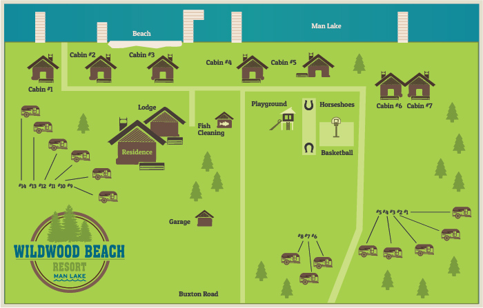 Wildwood Beach Resort Is Nestled In A Serene Wooded Setting On Private Spring Fed Lake But It Easy To Find Us
