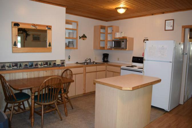 Cabin 7 - Kitchen