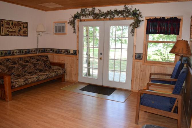 Cabin 7 - Living Room