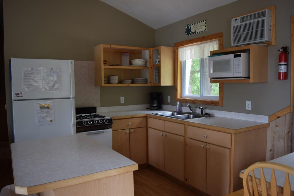 Cabin 4- Kitchen