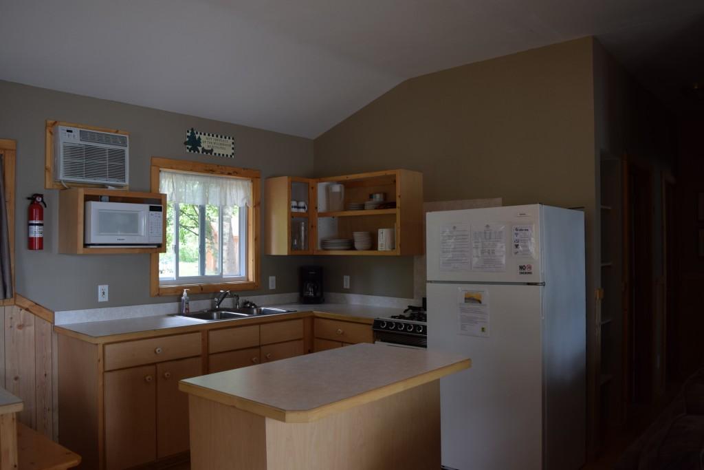 Cabin 3- Kitchen