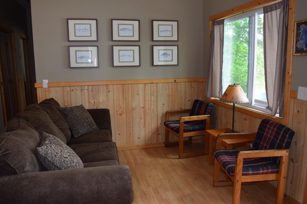 Cabin 3- Living Room