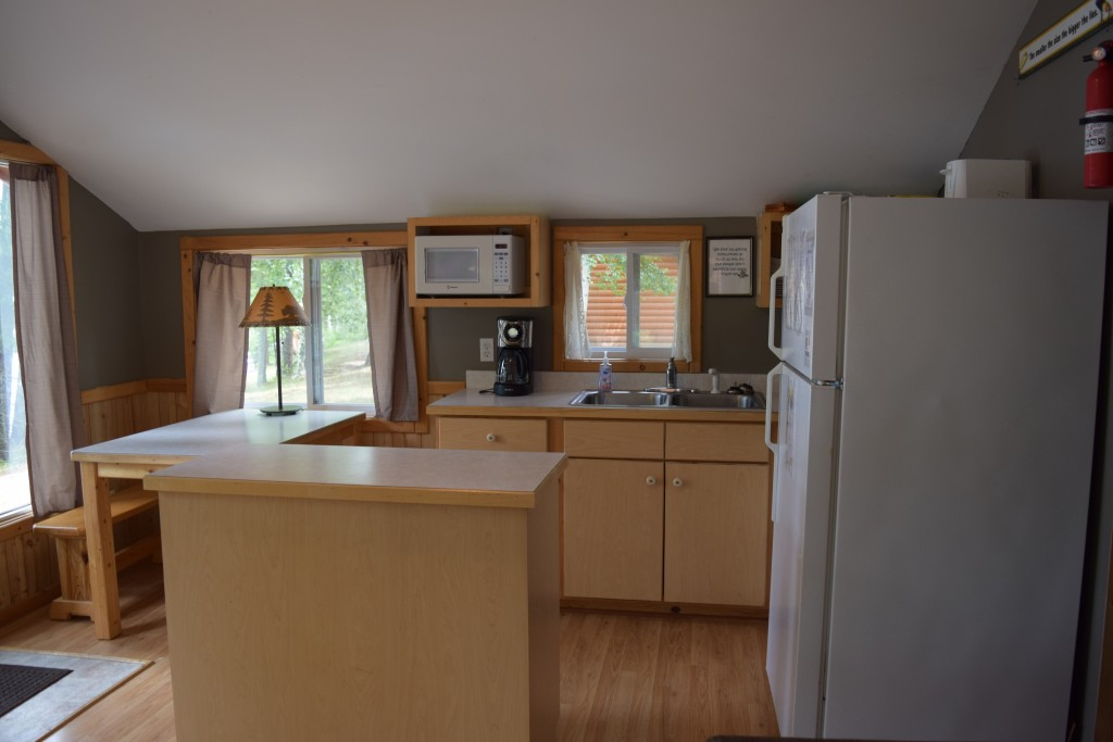 Cabin 2- Kitchen